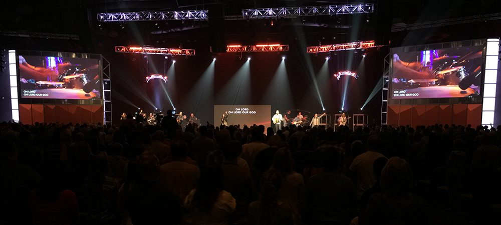 Digital Projection Laser Projectors Unveiled at N.C. Church